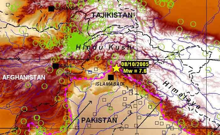 Carte Sismique Inde.Observatoire Royal De Belgique Seismologie Gravimetrie